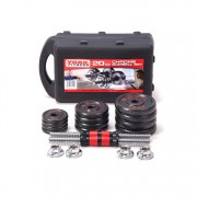 black paintting dumbbell